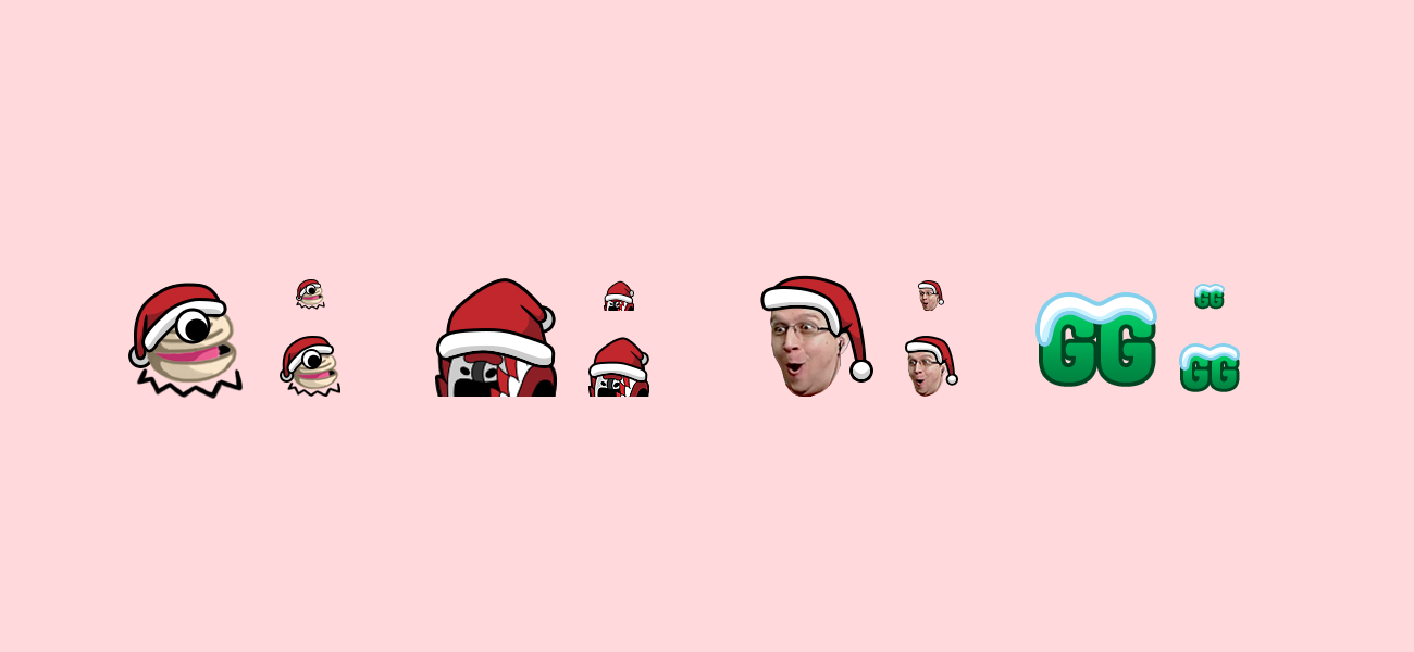 SyntaxSe7en Holiday Twitch Emotes