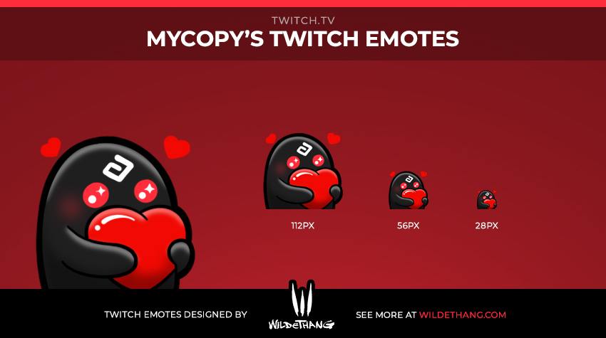 MrCopy's Custom Twitch Emote designed by WildeThang - Twitch Emote Designer